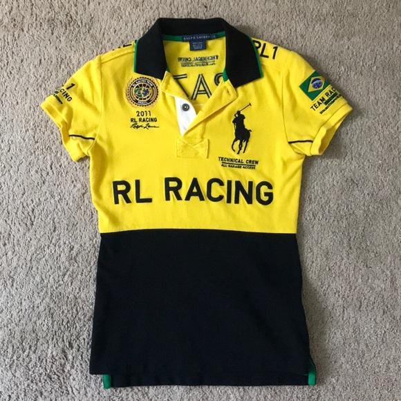 Ralph Brazil Lauren Sleeve Short Polo Kc3Tlu5F1J